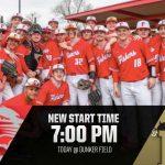 Baseball vs Noblesville moved to 7:00 PM @ Dunker Field