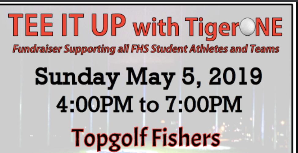 Tee It Up with TigerOne – Sunday, May 5th at Top Golf