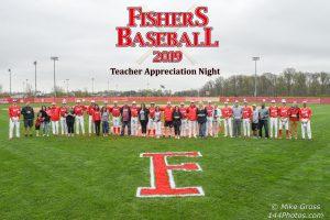 Varsity Baseball Teacher Appreciation Night