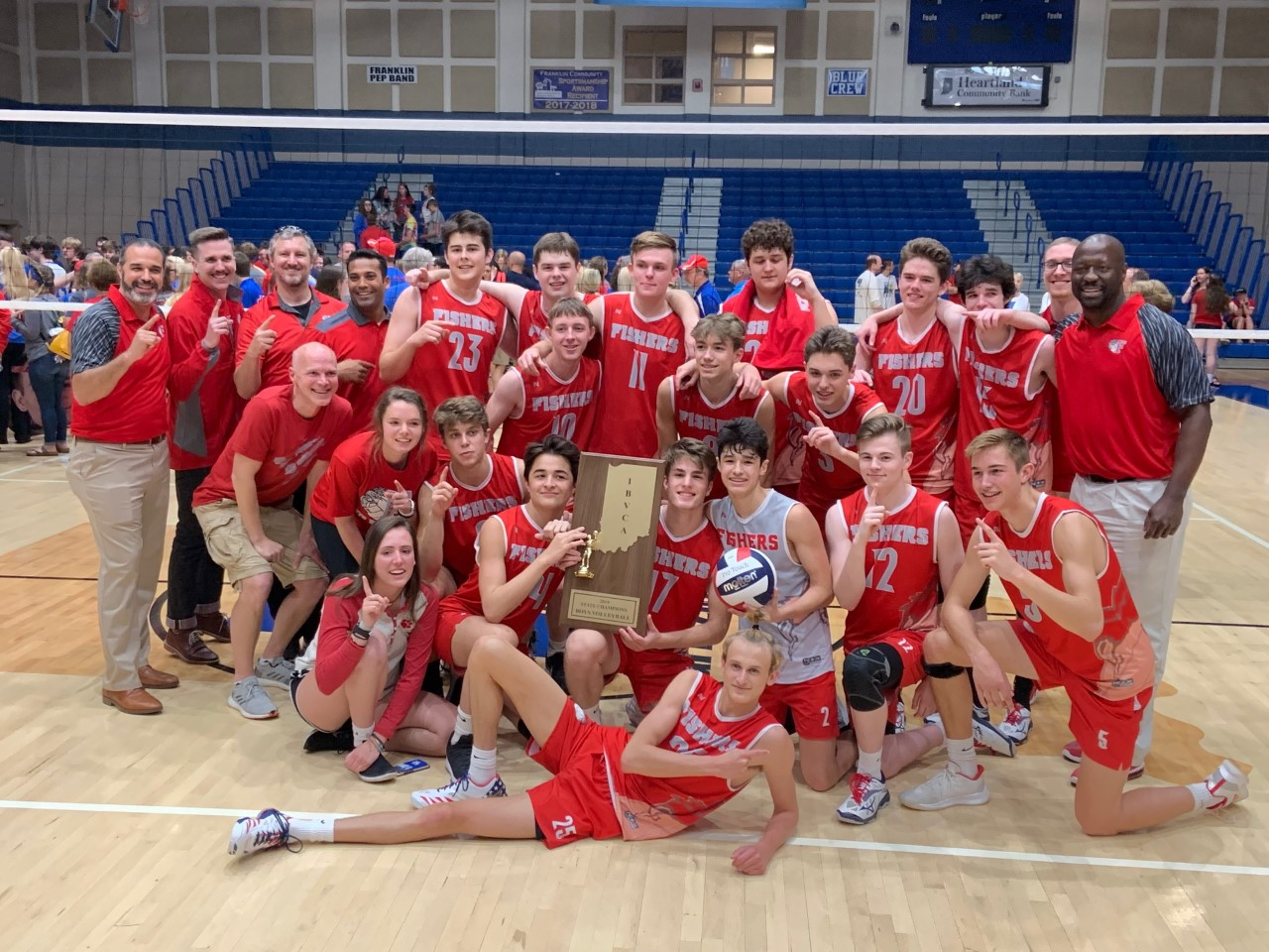 Fishers Boys Volleyball Wins State Championship