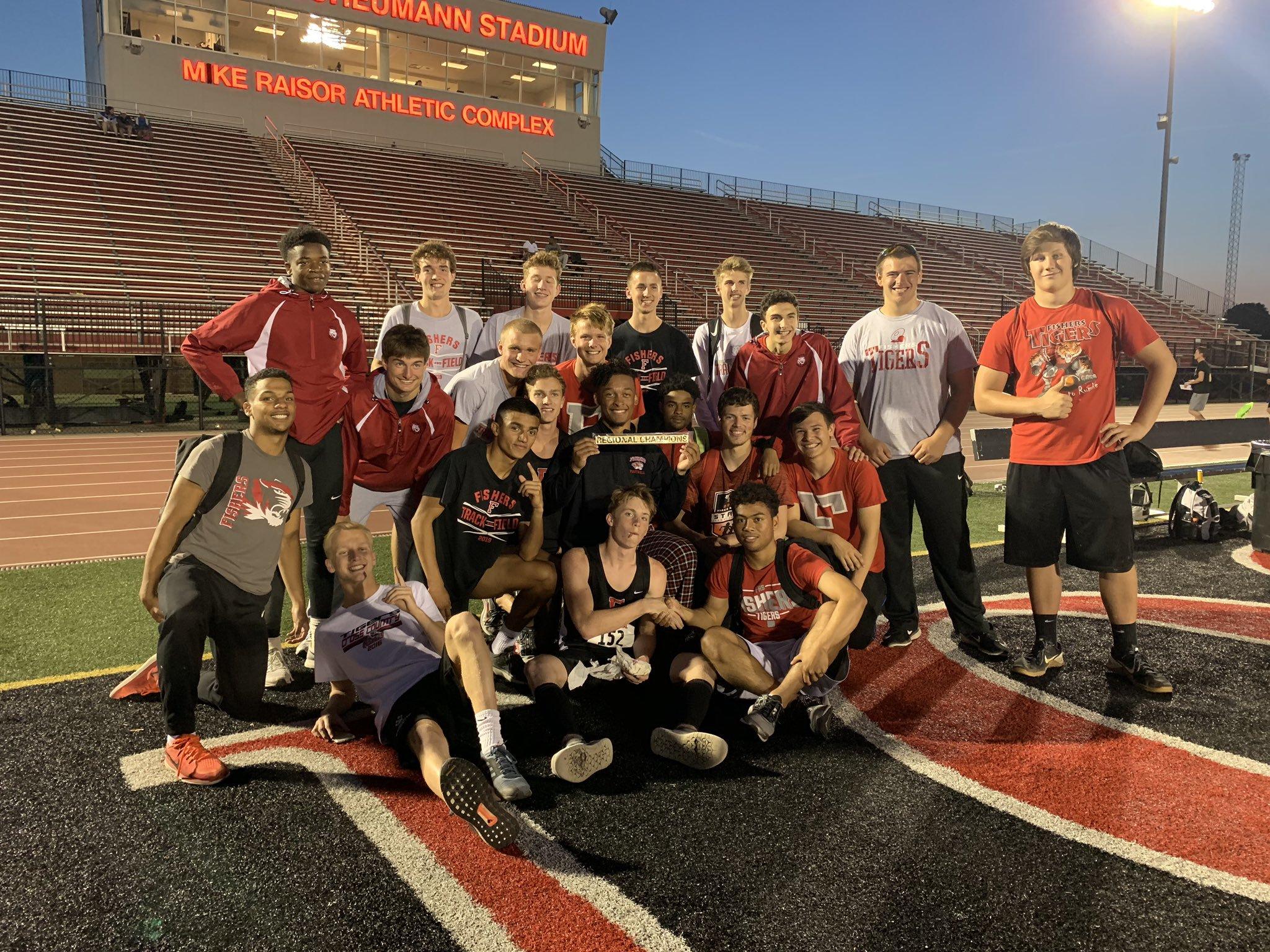 Fishers Boys Track & Field Wins First Regional Title