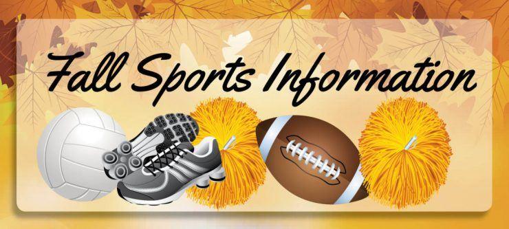 2020-21 Sports Registration & Fall Official Start Information