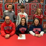 Abby Carter signs to run XC & TF at Dayton @DaytonFlyers