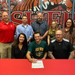 Eric Fettinger signs to play baseball at John Wood Community College @JohnWood_bases