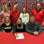 Abby Jahns signs to swim at Purdue University @PurdueSports