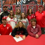 Courtney James signs to play softball at Northern Illinois @NIUAthletics