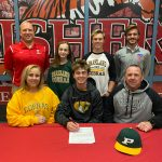 Kaid Muth signs to play baseball at Parkland College @Cobra_Baseball