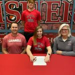 Emily Brewer signs to play volleyball at Grinnell College @GrinnellCollege
