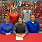 Cory Wolter signs to play baseball at Saint Francis @sfcougars
