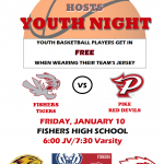Boys Basketball Youth Night – Friday, January 10th @MudsockYouth @RJHHawks @FJHChargers