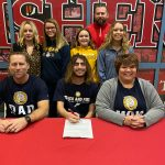 Derek James signs for track & field at Marian University @MUTF_MUXC