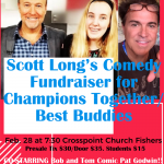 Unified Track Comedy Night Silent Auction Fundraiser
