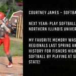 Tiger Senior Spotlight- Courtney James