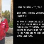 Tiger Senior Spotlight- Logan Sorrell