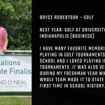 Tiger Senior Spotlight – Bryce Robertson