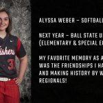 Tiger Senior Spotlight – Alyssa Weber