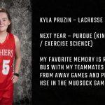 Tiger Senior Spotlight – Kyla Pruzin