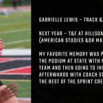 Tiger Senior Spotlight – Gabrielle Lewis