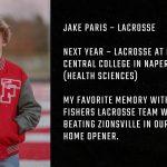 Tiger Senior Spotlight – Jake Paris