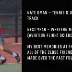 Tiger Senior Spotlight – Nate Oman