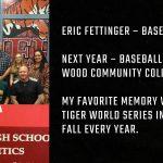 Tiger Senior Spotlight – Eric Fettinger