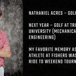 Tiger Senior Spotlight – Nathaniel Acres