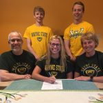 Johanna Strueder signs to run XC / TF at Wayne State University @waynestwarriors
