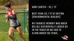 Tiger Senior Spotlight – Abby Carter