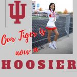 Amira Bledsoe signs to cheer at Indiana University @IUcheerleading