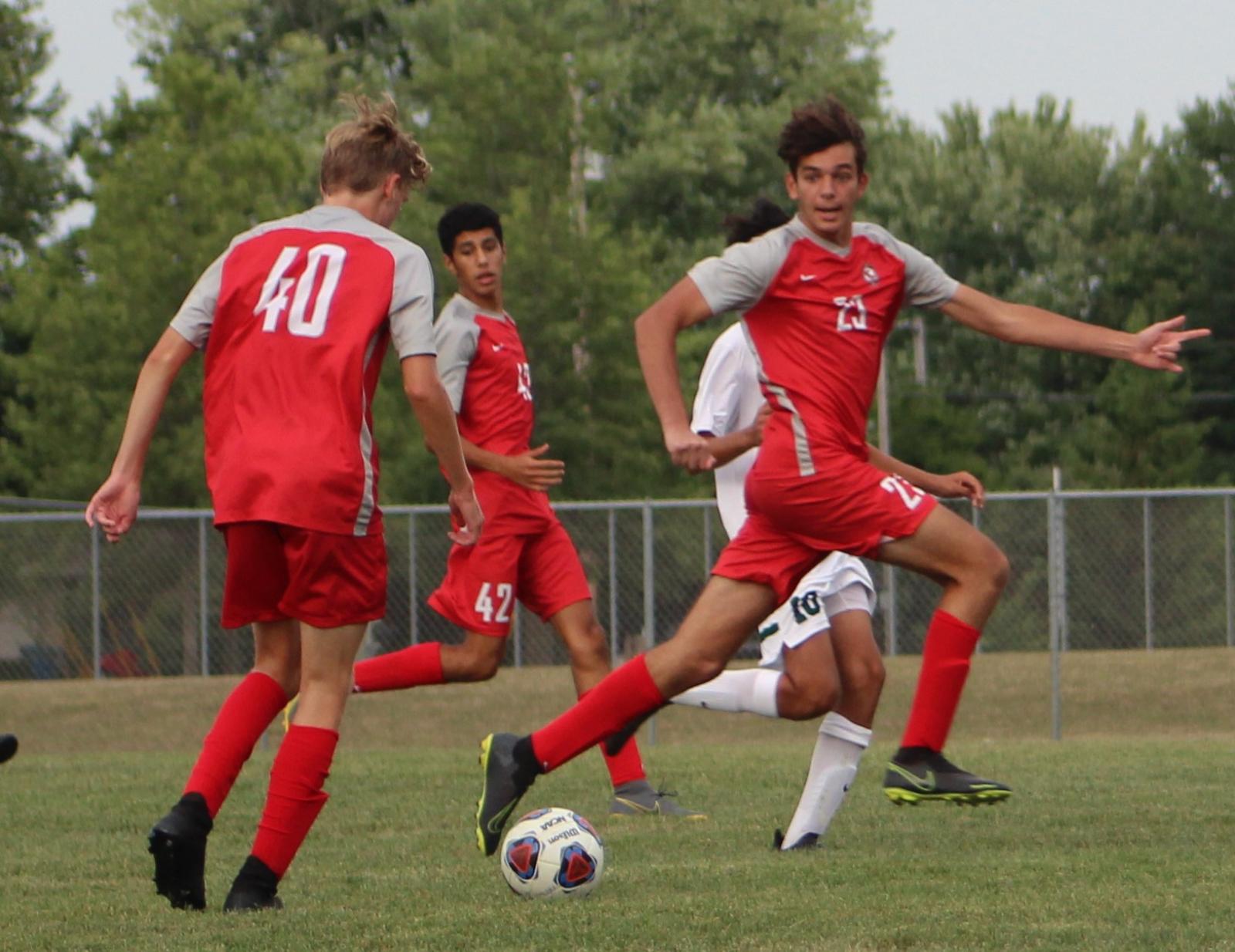 Boys JV Soccer vs Zionsville