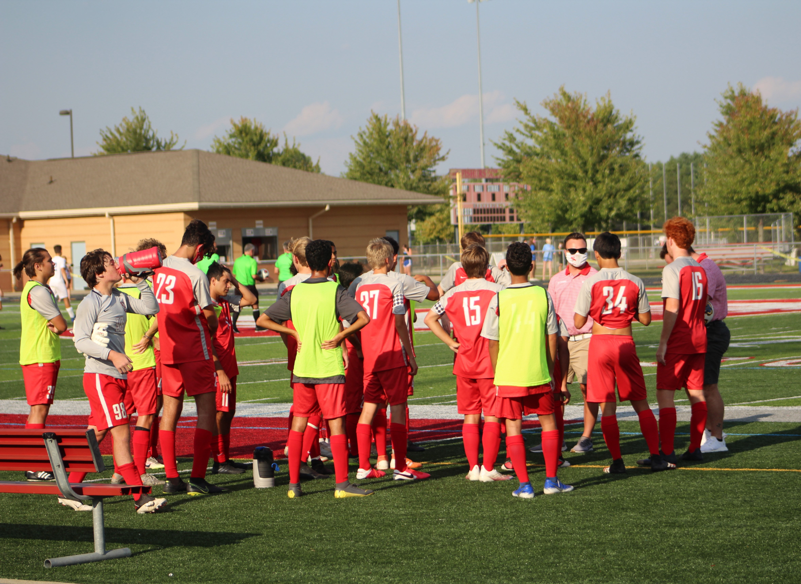 Boys JV Soccer vs HSE Photo Gallery @Fishers_Soccer