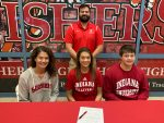 Camryn Haworth signs to play volleyball at Indiana @IndianaVB
