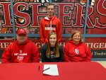 Katie Burton signs to play basketball at St. John's University @StJohnsRedStorm