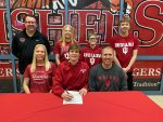 Jackson Carlile signs to swim at Indiana