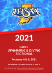 Sectional Finals Program / Heat Sheets:  2021 @IHSAA1 Girls Swimming & Diving