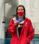 Morgan Casey ~ 2021 IHSAA 1M DIVING STATE CHAMPION