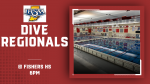 2021 IHSAA Fishers Diving Regional – Good Luck Sebastian Otero, Will Jansen, and Jack Roby