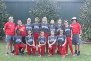 2014 Middle School Softball