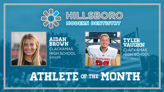 And the Hillsboro Modern Dentistry November Athlete of the Month is….