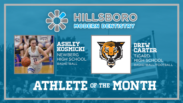 Time to recognize the Hillsboro Modern Dentistry December Athletes of the month…