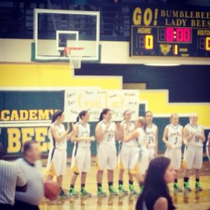 2014-2015 Varsity Girls Basketball