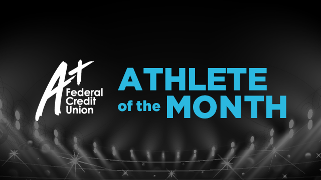 And the September A+ Athlete of the Month is….