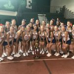 Congratulations to the Garden City Varsity Cheer Team at Cheer Camp. Grand Champs Mega Mega Award