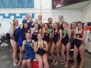 Cougars Swim at Wayne Invite