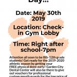 Free Physicals at GC! May 30th