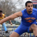 Boys Team Bests Clarenceville in Track & Field Contest