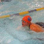 Girls Varsity Swimming beats Redford Union 96 – 74