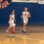 Girls Varsity Basketball battles Crestwood