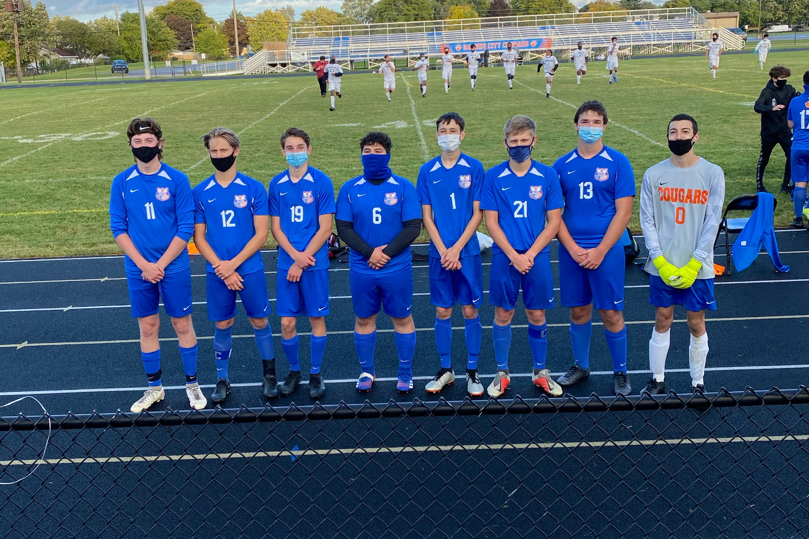 Boys Soccer vs Thurston 9/30/20 (Senior Night)