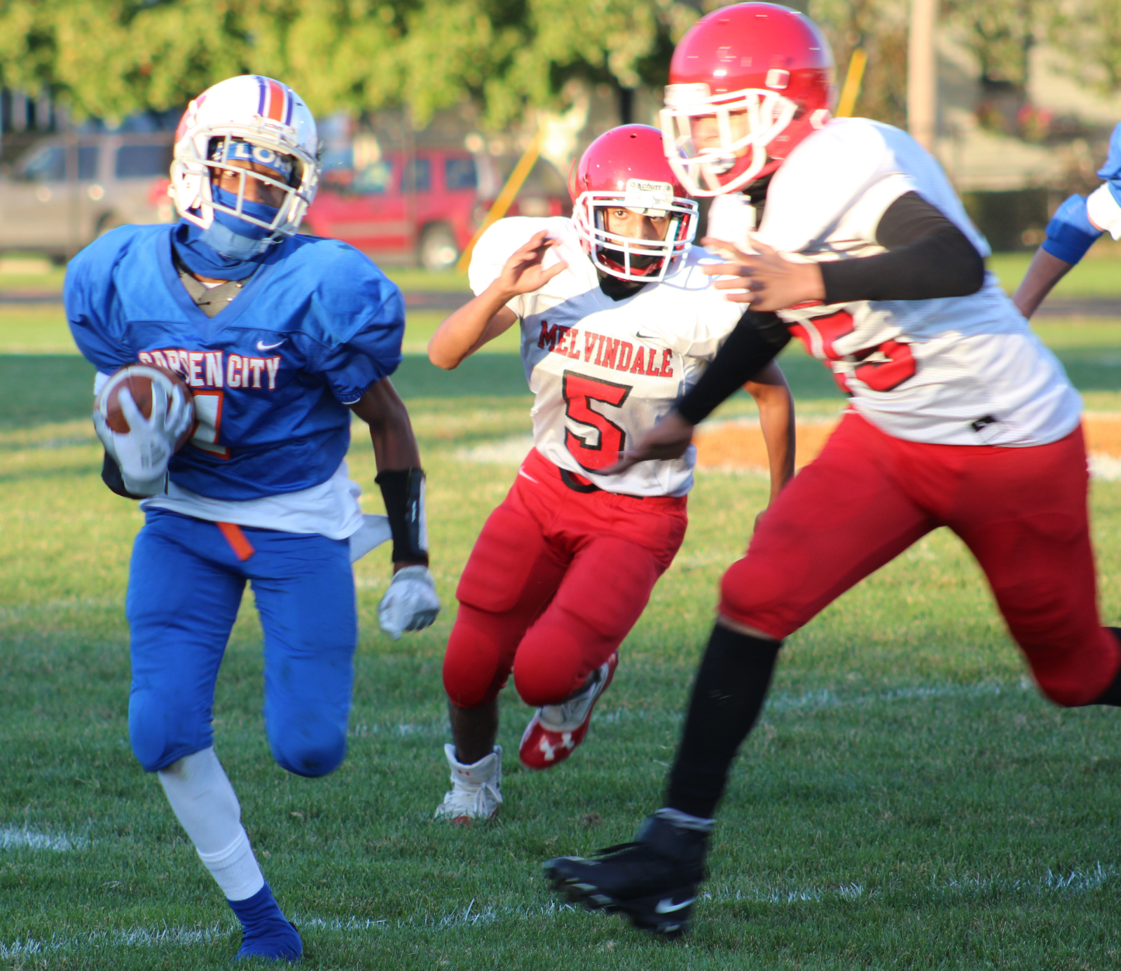 JV Football 10/08/20 vs Melvindale